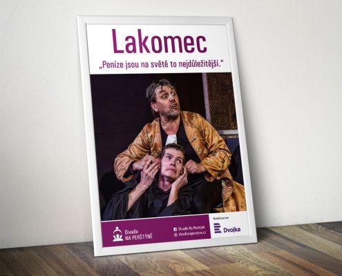Divadlo Na Perštýně - Poster A2